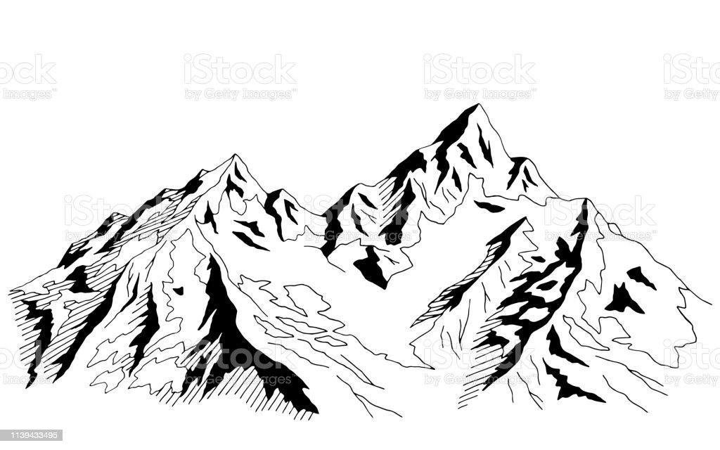 Bilder Zum Ausmalen Berge - Kostenlos zum Ausdrucken