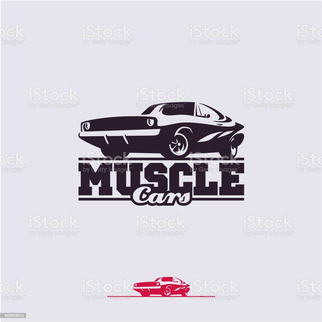 best muscle car illustrations