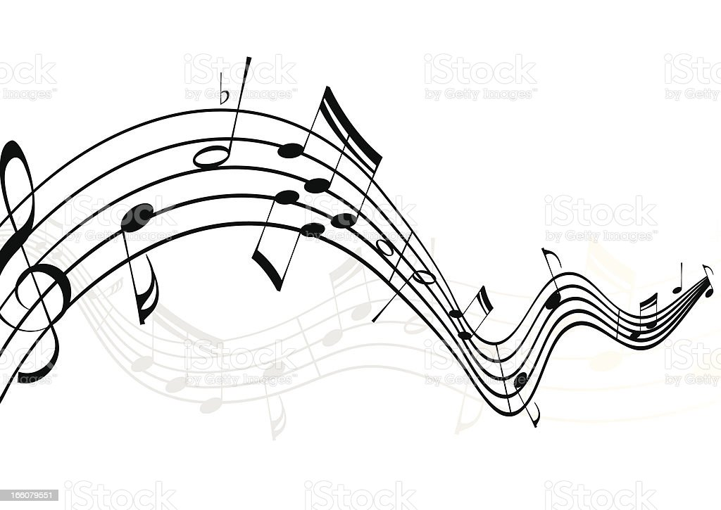 Musical Notes Stock Vector Art & More Images of Arts