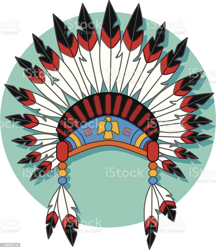 medium resolution of native american headdress royalty free native american headdress stock vector art amp more images