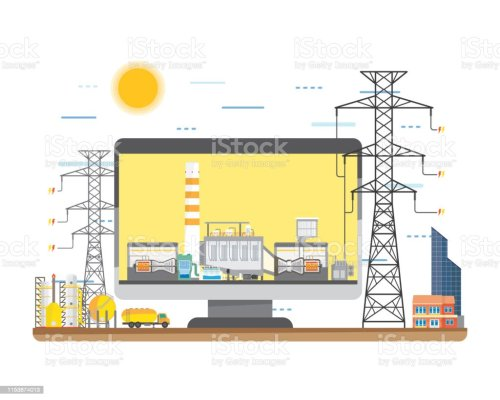 small resolution of natural gas energy natural gas power plant natural gas combine cycle generate the electric in simple graphic illustration