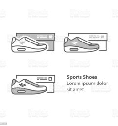 new sneakers collection sports shoes with box running foot wear illustration  [ 1024 x 1024 Pixel ]
