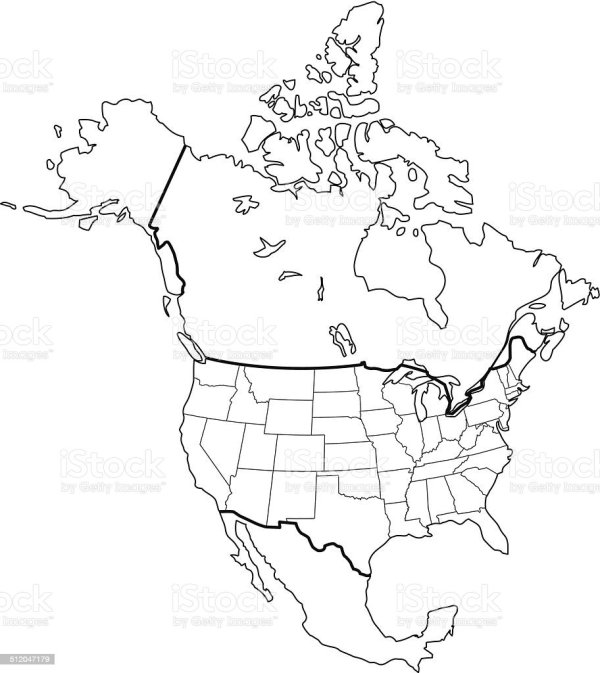 20+ North America Clip Art Black And White Ideas and Designs on