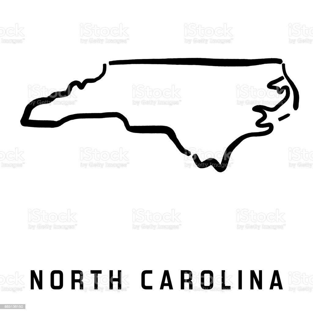 North Carolina Stock Vector Art & More Images of Blank
