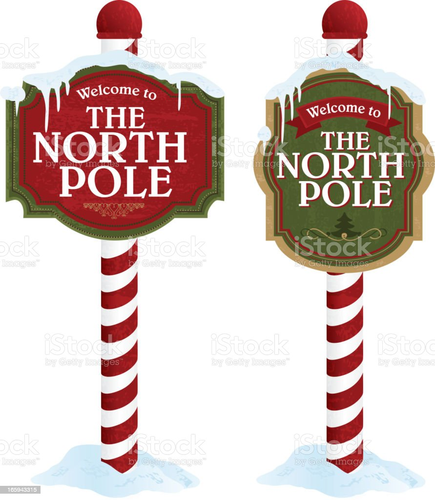 North Pole Clip Art Vector Images Illustrations iStock