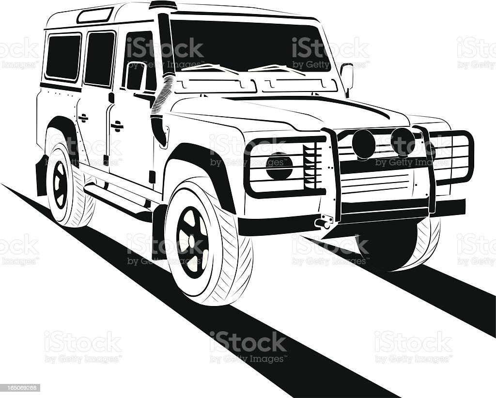 Off Road Stock Vector Art & More Images of 4x4 165069268
