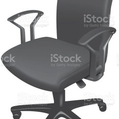 Office Chair Illustration Outdoor Reclining Chairs Stock Vector Art More Images Of Black Royalty Free Amp