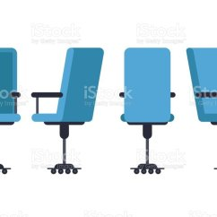 Office Chair Illustration Swing Olx Islamabad Royalty Free Clip Art Vector Images Illustrations Or Desk In Various Points Of View Armchair Stool Front