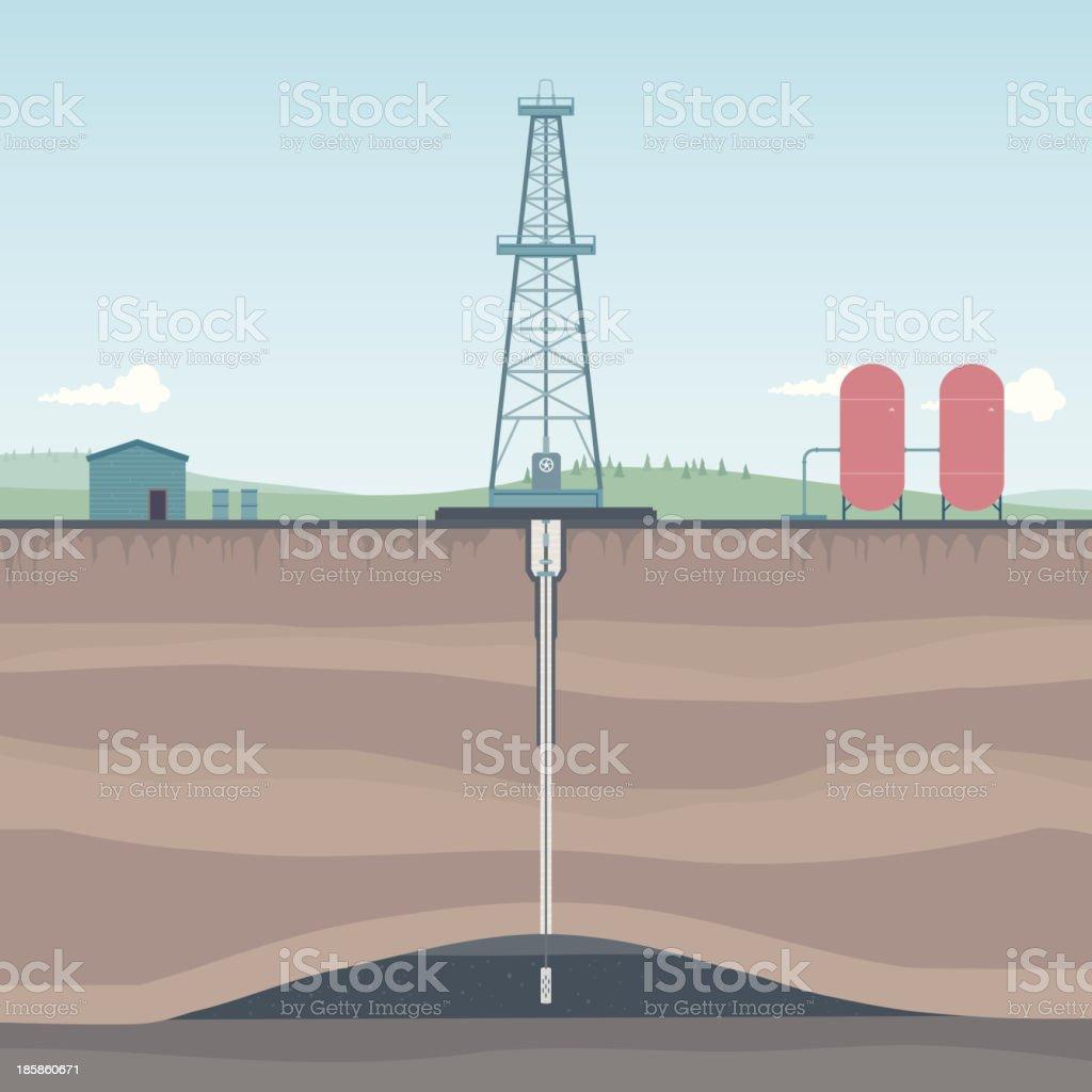 oil rig diagram guitar wiring diagrams 1 pickup plateforme pétrolière offshore dans la campagne schéma