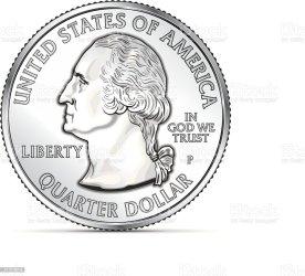 6 686 Quarter Illustrations Royalty Free Vector Graphics & Clip Art iStock