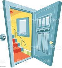 Royalty Free Front Door Clip Art, Vector Images ...