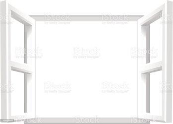 window open clip sill vector own text illustrations illustration
