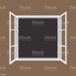 window frame open icon illustration clip vector illustrations graphics text own