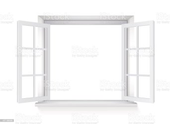 window open vector clip background illustrations isolated illustration