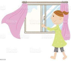 window open clipart clip fenster vector illustrations oeffnen illustration graphics