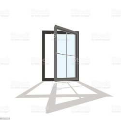 window frame vector open clip illustrations background illustration 3d