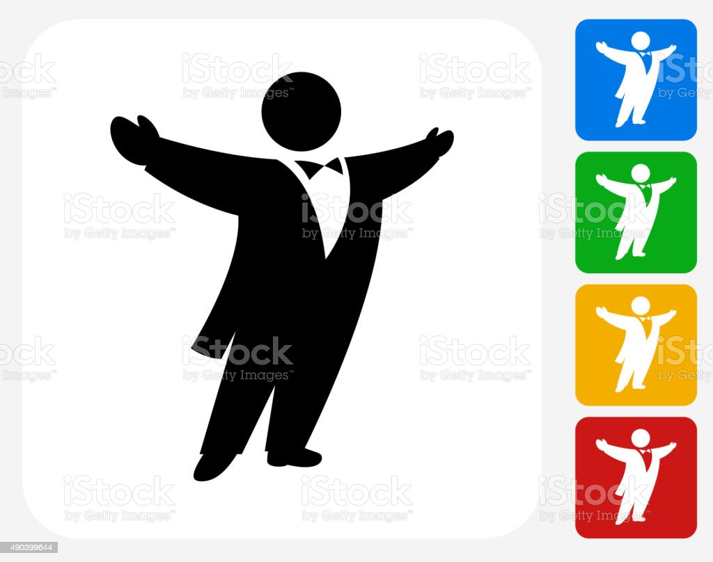 hight resolution of opera singer icon flat graphic design royalty free opera singer icon flat graphic design stock