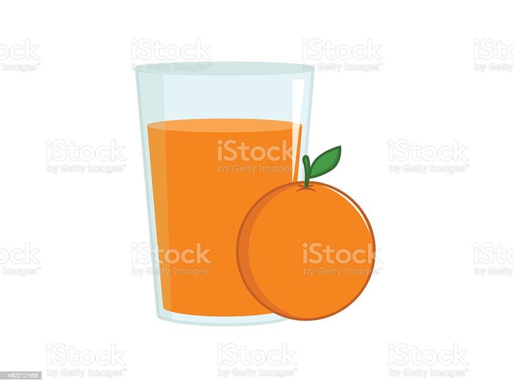 orange juice illustrations