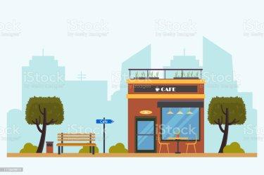 120 Outdoor Restaurant Patio Cartoon Illustrations Royalty Free Vector Graphics & Clip Art iStock