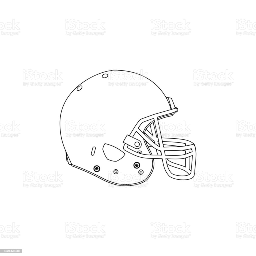 We have a huge range of paper cutting products available. Outline Design Of American Football Helmet Stock Illustration Download Image Now Istock