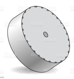 outlined vector satellite dish in isometric perspective isolated on white background transmission aerial communication antenna sign illustration  [ 1024 x 1024 Pixel ]