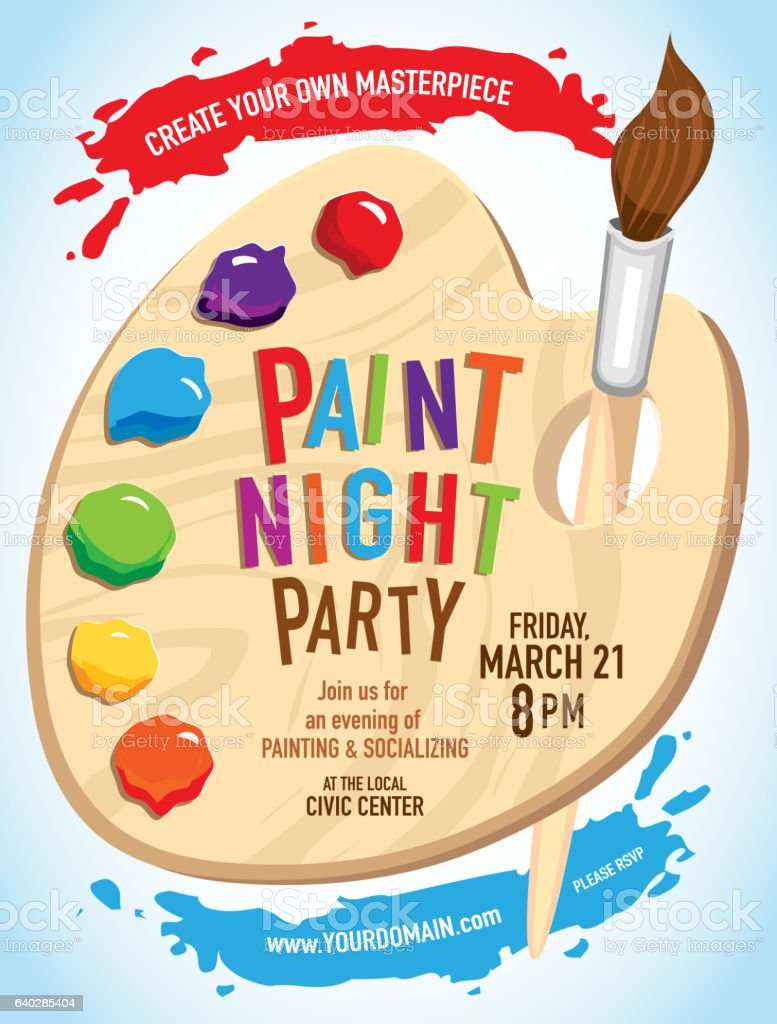 Paint Party Events