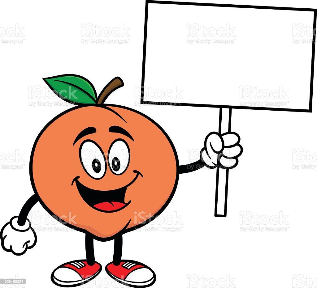 georgia peach illustrations