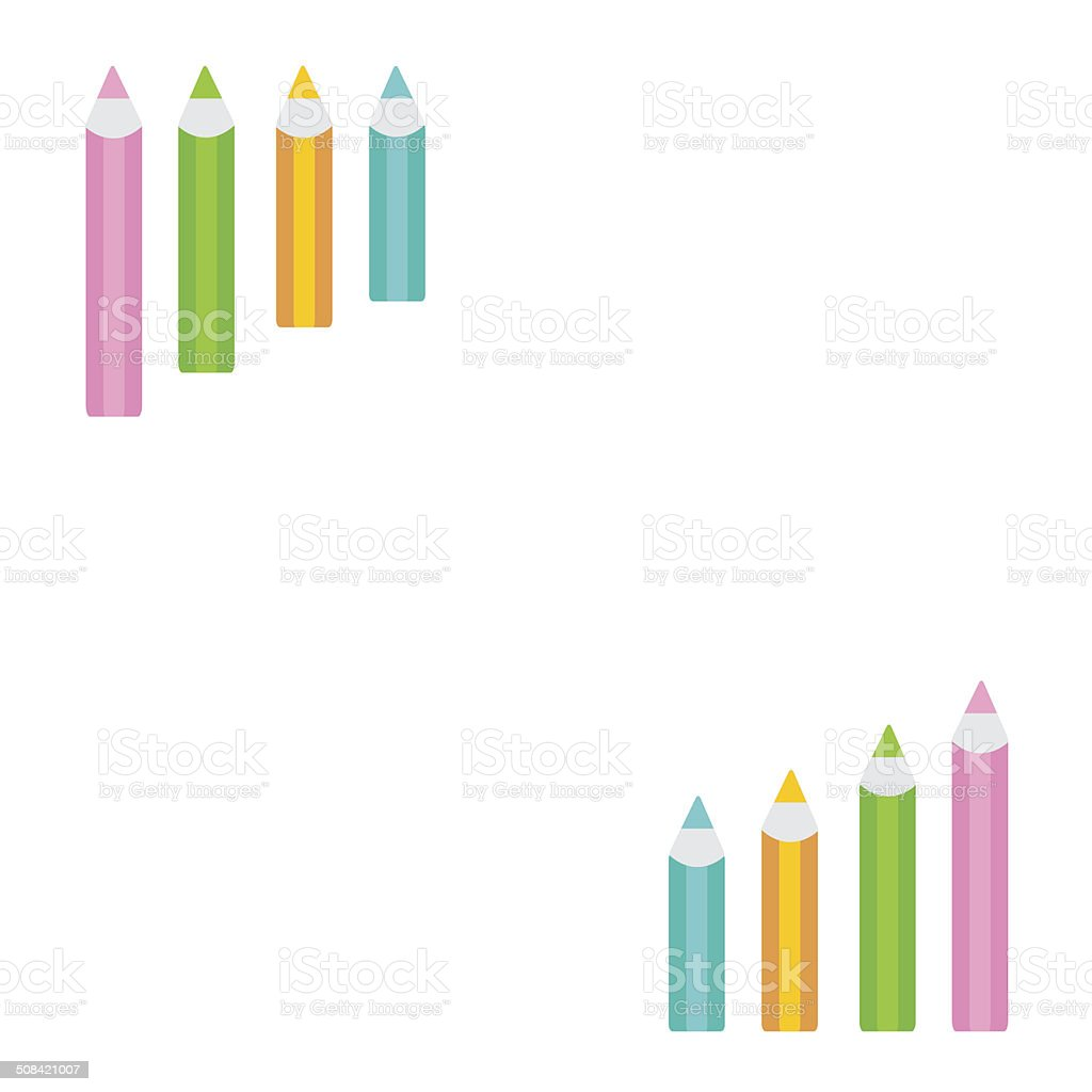 hight resolution of pencil diagram frame white background template royalty free pencil diagram frame white