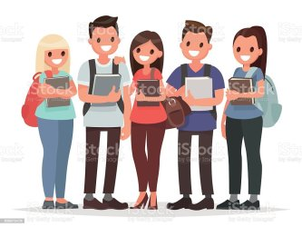 students happy education vector books student illustration illustrations clip university college adult boys animated international beyond arts westside welcome middle