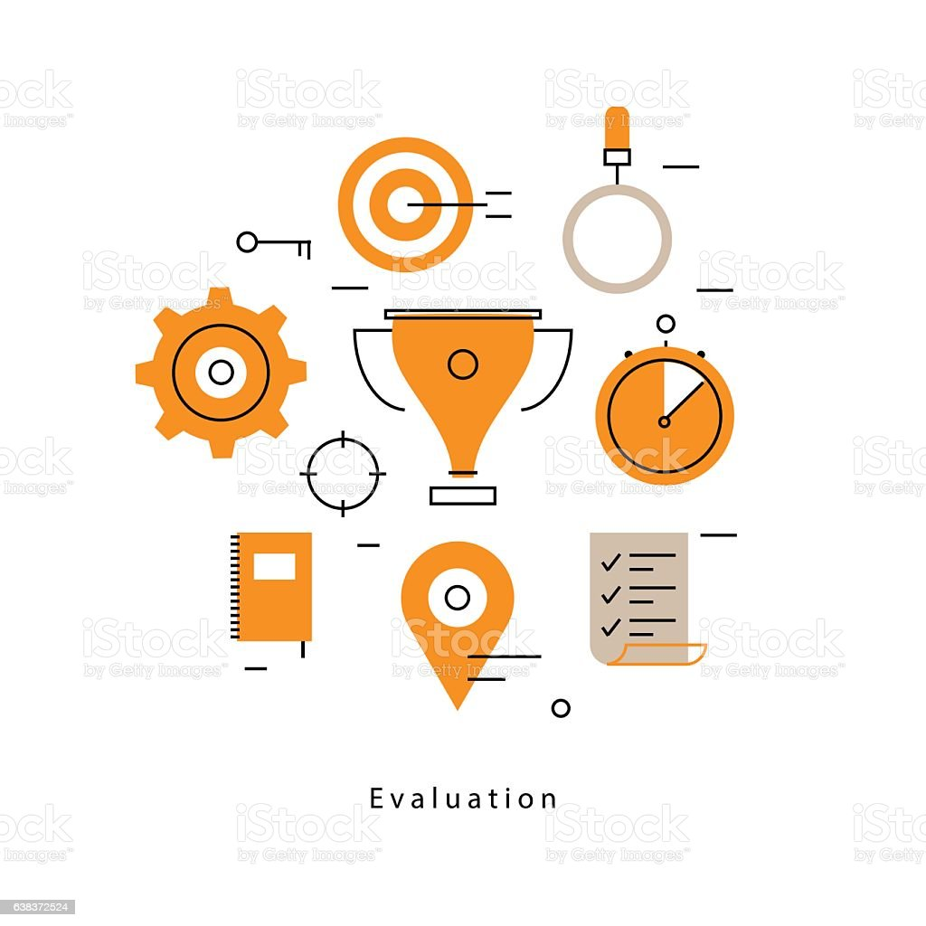 Performance Evaluation And Assessment Royalty-Free Performance Evaluation  And Assessment Stock Vector Art &