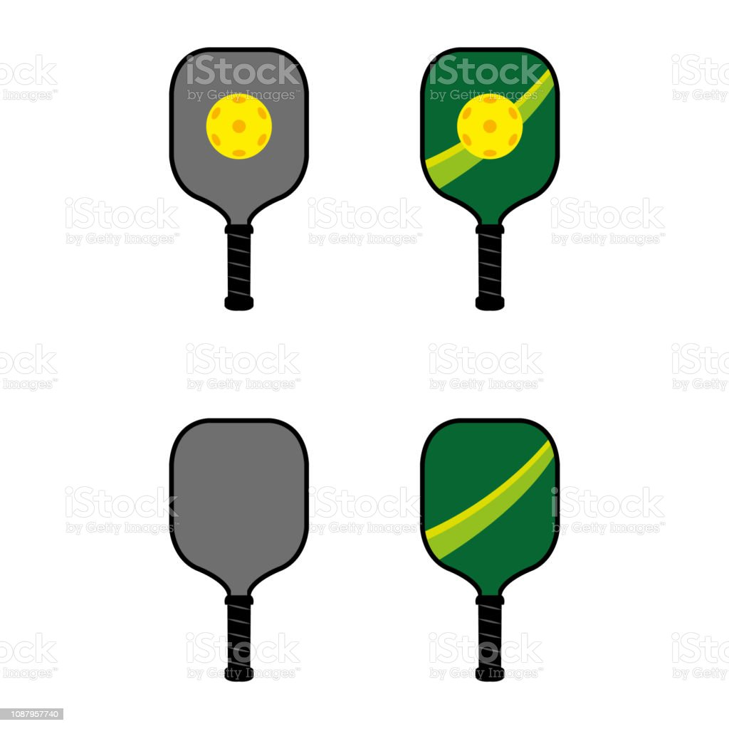 hight resolution of pickleball 3 illustration