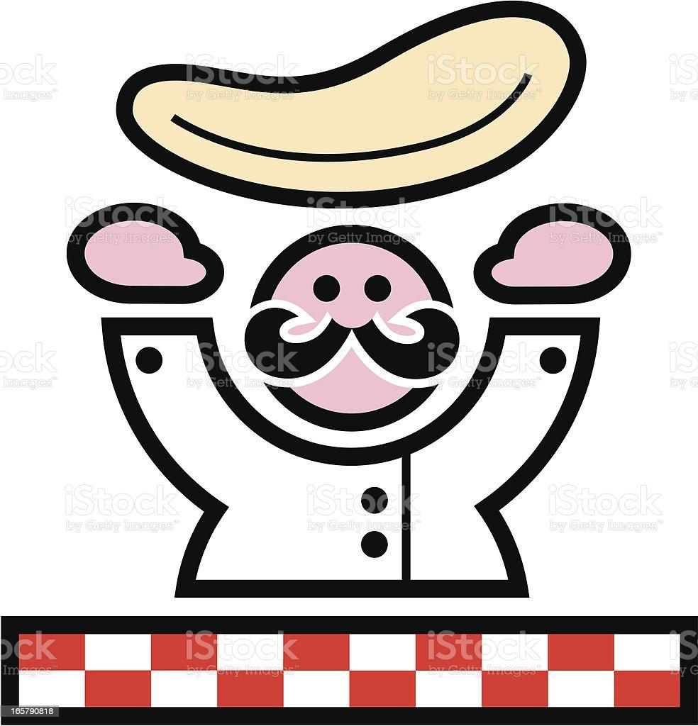 pizza dough clip art vector