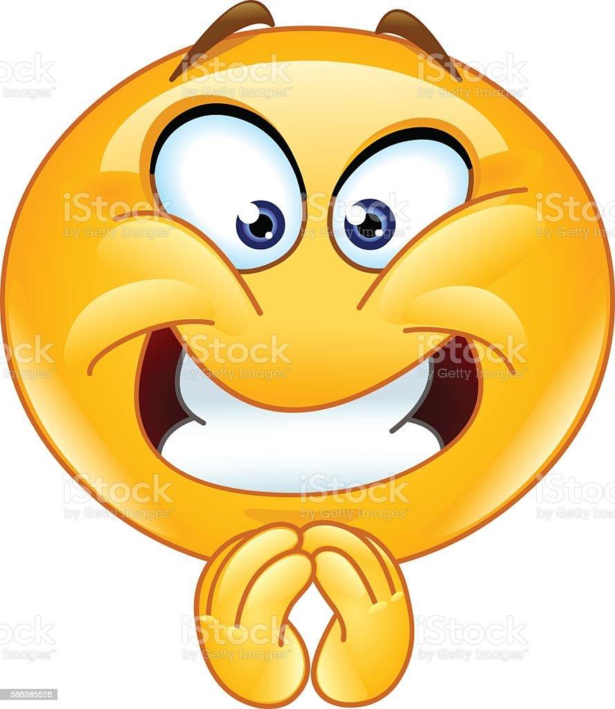 Best Excited Emoji Illustrations RoyaltyFree Vector