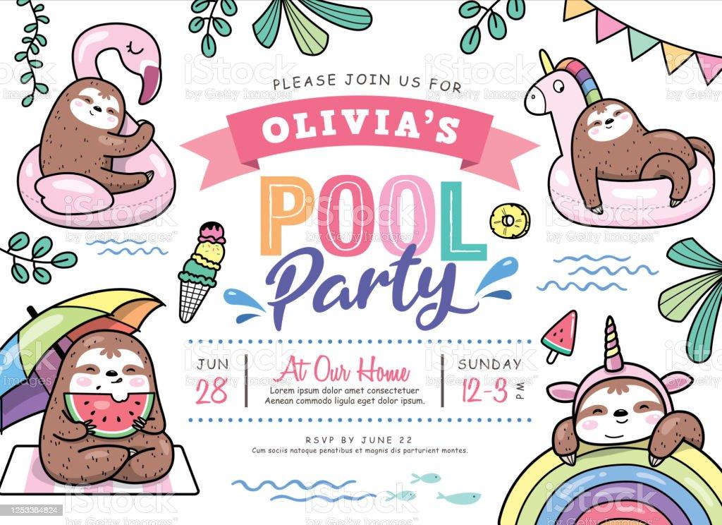 https de clipartlogo com free swimming birthday party invitation html