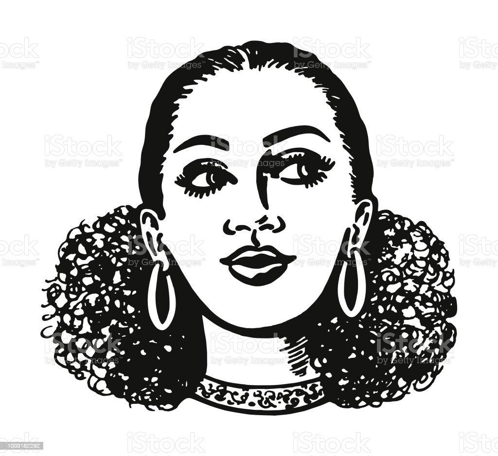 african american hair illustrations