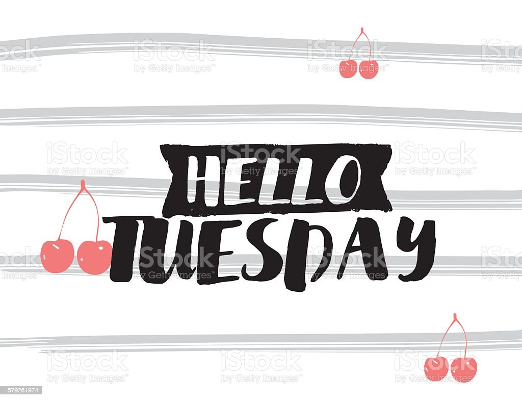 tuesday clip art vector