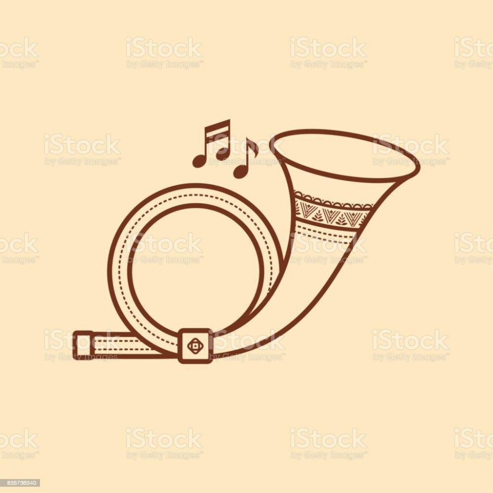medium resolution of post horn musical instrument baby toy royalty free post horn musical instrument
