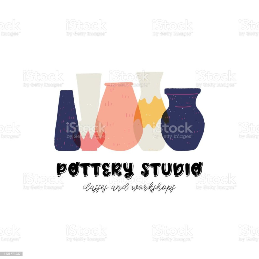 medium resolution of pottery studio business card template and clipart royalty free pottery studio business card template and