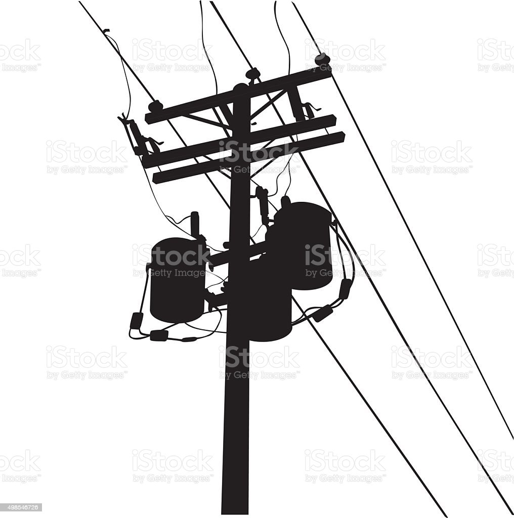 Power Lines Stock Vector Art & More Images of 2015