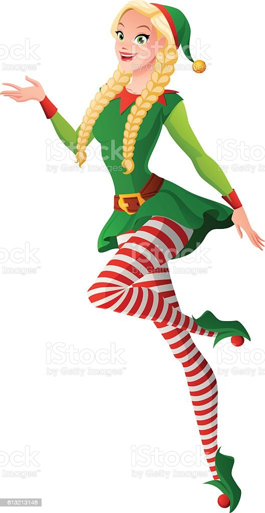 royalty free sexy christmas elves