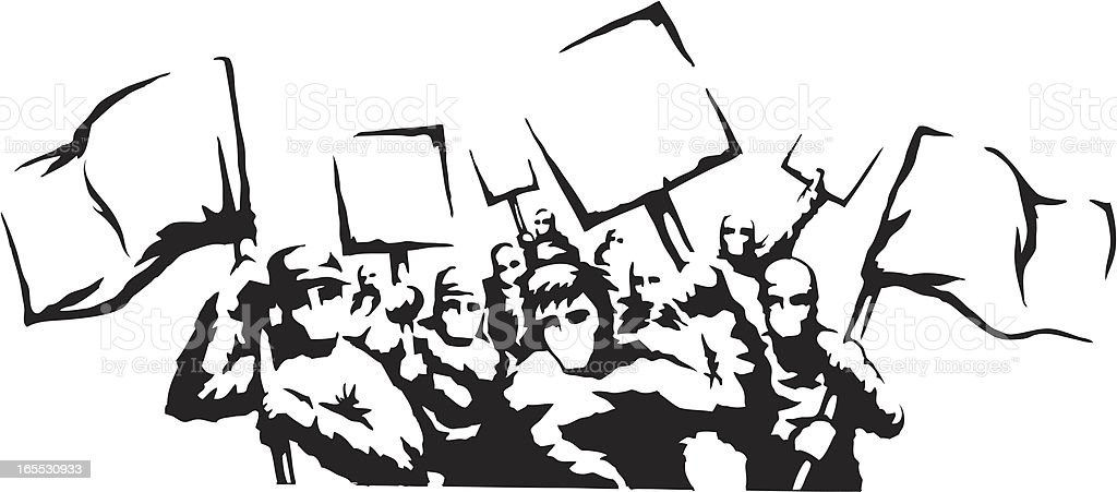 Protest Riot Stock Vector Art & More Images of Art And