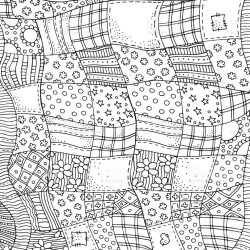 439 Black And White Quilt Patterns Illustrations Royalty Free Vector Graphics & Clip Art iStock
