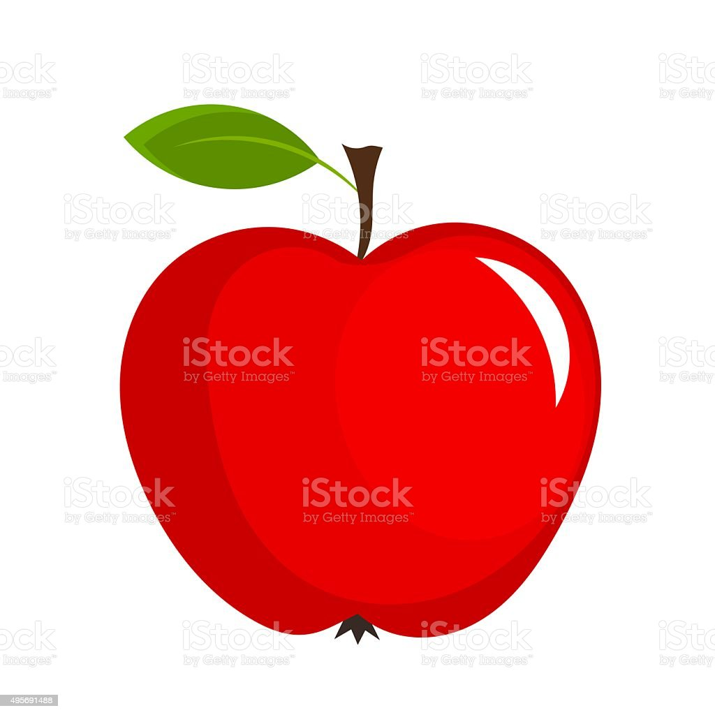 best red apple illustrations
