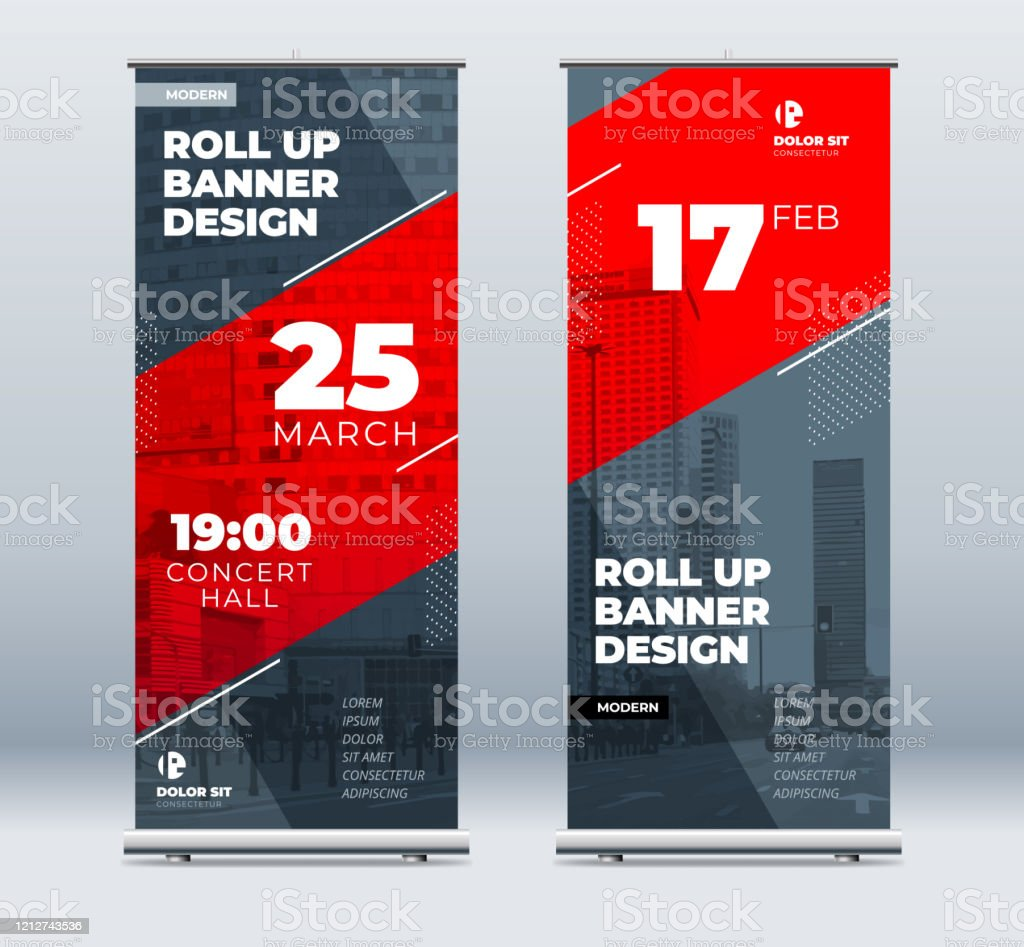 50 roll up banner bundle. Roll Up Banner Design Vector Free Ai Svg And Eps