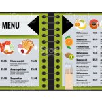 Restaurant Or Cafe Menu Vector Design Template Trendy Style Vector Stock Illustration Download Image Now Istock