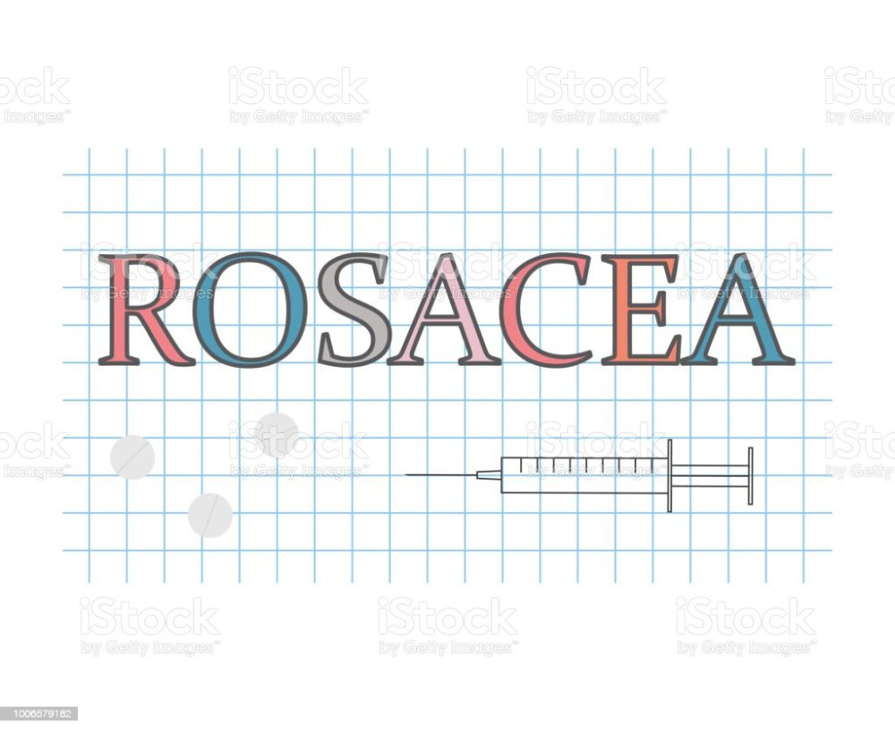 medium resolution of rosacea word on checkered paper sheet royalty free rosacea word on checkered paper sheet stock