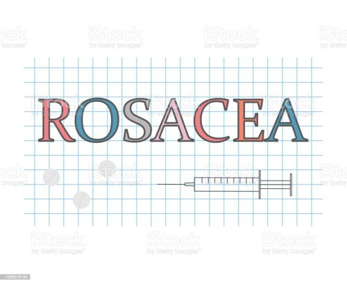 small resolution of rosacea word on checkered paper sheet royalty free rosacea word on checkered paper sheet stock