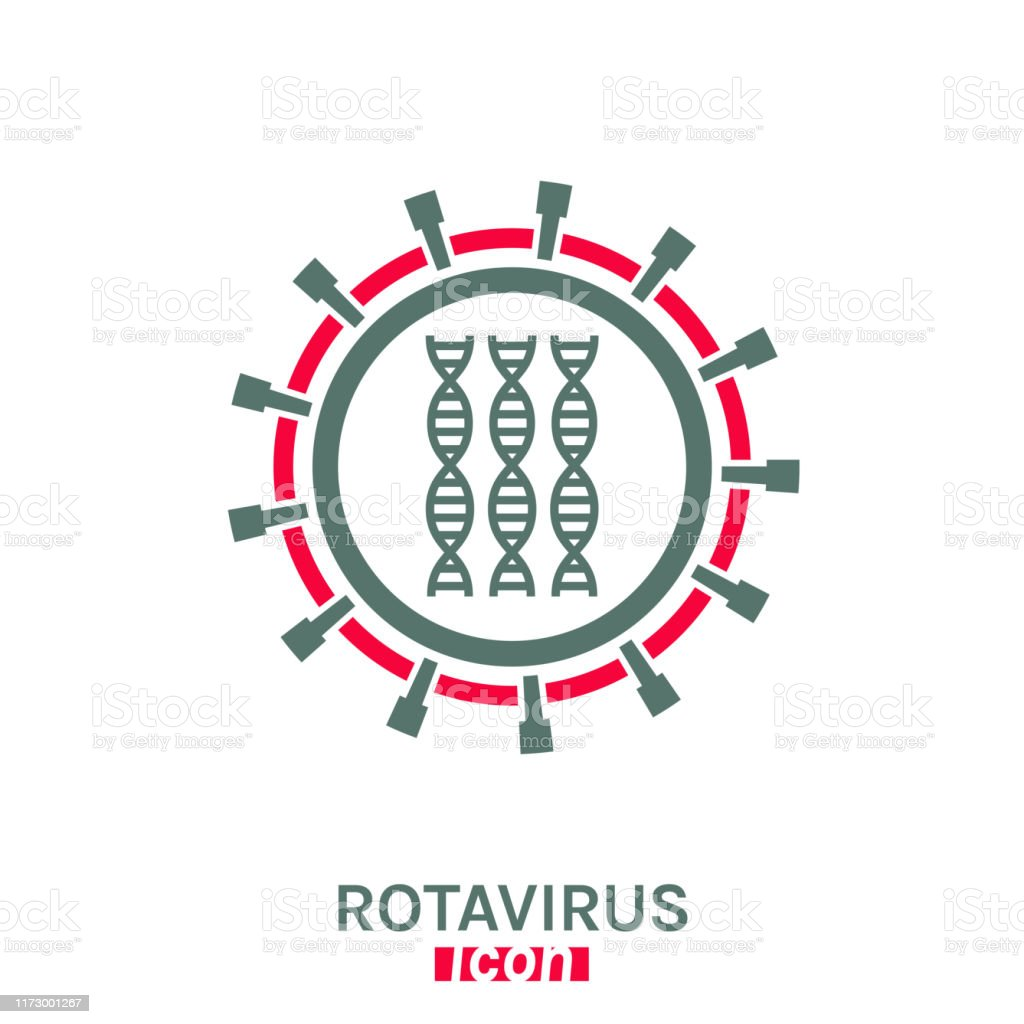Rotavirus Vector Pictogram Stock Illustration - Download Image Now ...