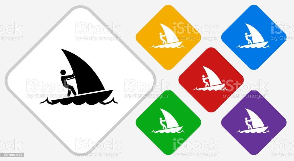 sail boat color diamond
