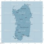 Sardinia Vector Road Map Stock Illustration Download Image Now Istock